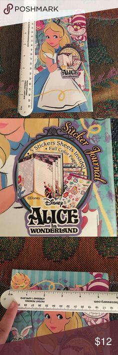 alice in wonderland notebook 📓 journal brand new still sealed Disney Other