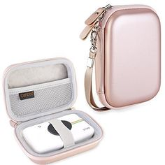 Buy Canboc Shockproof Carrying Case Storage Travel Bag for HP Sprocket Portable Photo Printer / Polaroid ZIP Mobile Printer Protective Pouch Box,Rose Gold at Discounted Prices ✓ FREE DELIVERY possible on eligible purchases. Portable Photo Printer, Hp Photo Printer, Hp Printer, Printer Paper, Hp Sprocket Photo Printer, Printer Scanner, Hp Drucker, Instant Digital Camera, Digital Cameras