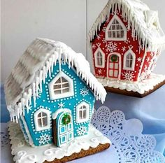 1 million+ Stunning Free Images to Use Anywhere Christmas Goodies, Christmas Candy, Christmas Treats, Christmas Baking, Christmas Decorations, Xmas, Gingerbread House Patterns, Gingerbread Village, Christmas Gingerbread House