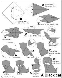 Tadpole origami | Origami | Pinterest | Origami