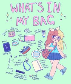 what's in my bag | Tumblr