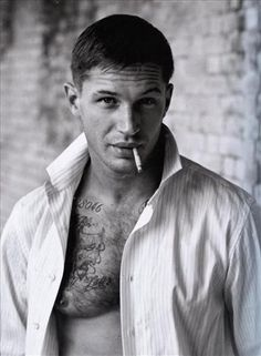 Tom Hardy (hot,sexy,beauty,actor,model,black and white)