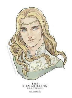 Glorfindel....Senhor da Casa da Flor Dourada, de Gondolin...