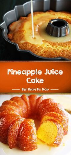 Pineapple Juice Cake --- made with a cake mix Baking Recipes, Cake Recipes, Dessert Recipes, Punch Recipes, Easter Recipes, Just Desserts, Delicious Desserts, Yummy Food, Cupcakes