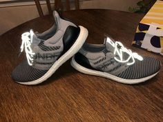 new concept 0095e e68c1 Undefeated x Adidas Ultra Boost Grey 13 Clear Onix Core Black White 3m  CG7148 shoes