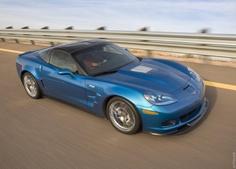 """2009 Chevrolet Corvette ZR1  Nickamed """"The Blue Devil""""."""