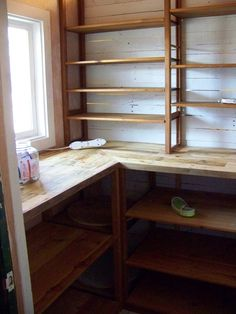 Mudroom shelving from reclaimed pallet and barn wood.