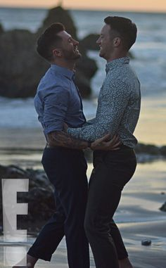 "Mr. and Mr. from Travis Wall and Dom Palange's Proposal Photos  ""This special moment was worth the wait,"" Wall tells E! News."