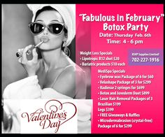 Botox Party at Las vegas. Don't Forget to come.