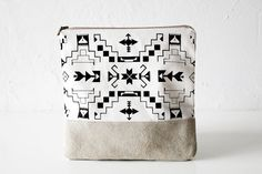 navajo printed pouch.