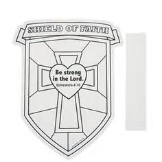 Shield of Faith Coloring Page - Bing images