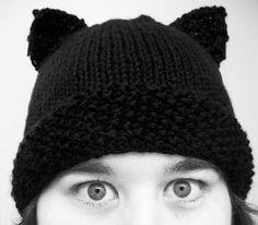 "Kitty Hat. ""Official Kittyville Hat"" pattern by Kitty Schmidt (www.kittyville.com)"