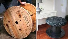 Recycled spool...
