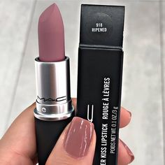 "He will be my next Rip ""Ripened"" purchase of MAC from the matte effect, … - Makeup Products Lipstick Mac Retro Matte Lipstick, Mac Lipstick Colors, Mac Lipstick Shades, Mac Lipstick Swatches, Mauve Lipstick, Lip Colors, Mac Lipsticks, Makeup Dupes, Skin Makeup"