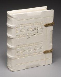 handmade book...just beautiful... made by Jeffrey Altepeter