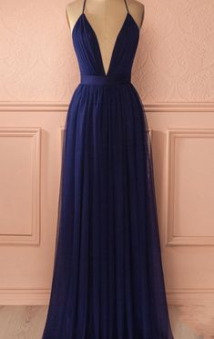 Long Evening Dresses #LongEveningDresse Sexy Prom Dresses #SexyPromDress Simple Long Evening Dress #TulleLongDress Backless Prom Dress #PromDress Fashion Evening Dresses #Evening Dresses