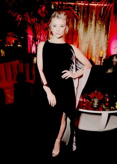 Natalie Dormer attends the 'The Hunger Games: Mockingjay - Part 2' Los Angeles Premiere After Party on November 16, 2015.