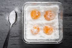 Curing Egg Yolk Inset / Photo by Chelsea Kyle, food styling by Tommy Werner
