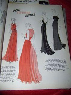Vogue Couturier Design 474 and 477