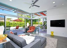 Palm Springs House Rental: Glass And Steel House 2012: 3 Br, 2 Ba House In Palm Springs, Sleeps 6 | HomeAway