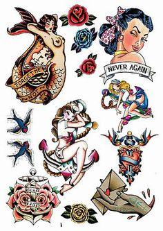 https://www.facebook.com/amazingtemporarytattoos/ Amy Winehouse Temporary Tattoos Rockabilly and Vintage Fake Temporary Tattoos