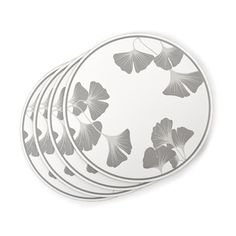 Georgina Set of 4 Round Corkback Placemats