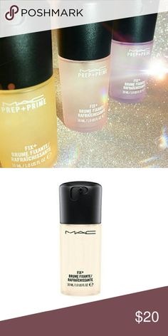 Scented to go MAC Prep and Prime Fix Plus I have 3 flavors.   This listing is for 1 bottle of 1 OZ  prep and prime.  Choose your flavor: Rose 1oz, lavender 1oz or coconut 1oz!  These are selling out fast and they're limited! Brand new  in box  Authentic  Limited edition  Mac cosmetics MAC Cosmetics Makeup