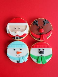 cookies decorated on Pinterest | Cookie Decorating, Christmas Cookies ...