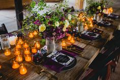 Dramatic Jewel Toned Wedding Inspiration