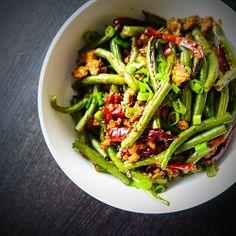 Spicy Green Beans with Ground Turkey