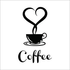 Coffee shop Restaurant wall decor decals home decorations 361 kitchen removable vinyl wall art diy decorative sticker