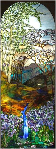 Image detail for -Tiffany Glass.. this is really a beautiful piece