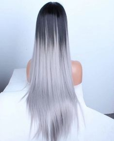 Stunning Long Whitish Hairs Color