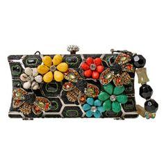 Mary Frances Honeycomb Handbag