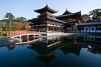 Byodo-in is a Buddhist temple in the city of Uji in Kyoto