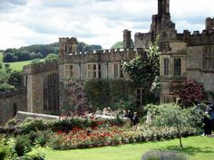 Lovely Haddon Hall in Cumbria, where Jane Eyre was filmed for Masterpiece Theater in 2006, starring Toby Stephens and Ruth Wilson