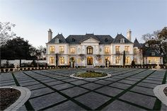 LUXURIOUS FRENCH CHATEAU | LUXURY HOMES