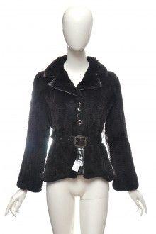 Úpletová kožešinová bunda sako králík norek kůže Pc 27t. 36 38  #bunda #kozich #kuze Moschino, Fur Coat, Bomber Jacket, Gucci, Vogue, Jackets, Vintage, Fashion, Down Jackets