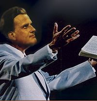 Billy Graham, Preaching - no one can ever bring souls to Christ like he has -
