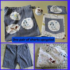 Creating my way to Success: One pair of shorts upcycled My Way, Sewing Tutorials, Upcycle, Success, Pairs, Shorts, Create, Fabric, Clothes