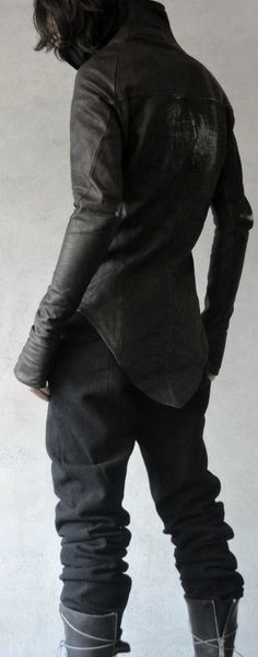 "Leather Jacket - Inspiring Future-Fashion-Board at Pinterest: search for pinner ""Jochen Wojtas"""