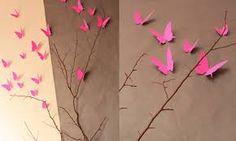 """Résultat de recherche d'images pour """"cadre mur papillons papier"""""""