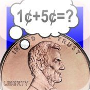 Math Coin App helps kids learn how to recognize, count, add and make change with U.S. coins.