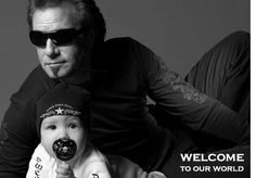 Rock Star Baby Fashion - Tico Torres Designs for Tots