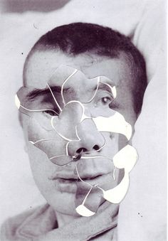 Hand-made collages by Iranian Artist Ashkan Honarvar. Collage Portrait, Collage Art, Portraits, Distortion Photography, Collages, Photography Themes, Abstract Photography, Experimental Photography, Iranian Art