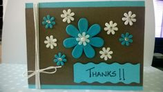 Punch Flowers Card