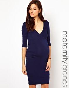 New Look Maternity Wrap Dress