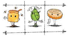 Don'T like southern sweet talk? honey, bless your heart Honey Bun Baby, Honey Buns, Easy Cartoon Drawings, Disney Drawings, Funny True Stories, Baby Clip Art, Irish Girls, Easy Chicken Curry, Homemade Black