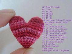 Diagram crochet