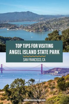 Visit Angel Island State Park in San Francisco California. This full guide and list of top things to do on Angel Island will help you plan a day trip from San Francisco. San Francisco things to do | San Francisco vacation tips | Hiking in San Francisco | San Francisco attractions | California state parks | California historic sites | San Francisco History | Angel Island San Francisco San Francisco Attractions, San Francisco Vacation, San Francisco Museums, San Francisco Travel, San Francisco California, Angel Island San Francisco, Northern California Beaches, California National Parks, Outdoor Adventures